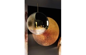 Mirror Ball 40 cm Gold