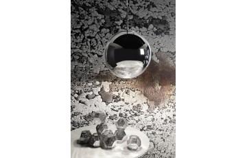 Mirror Ball 25 cm Silver